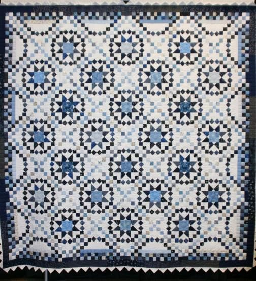 Savannah Quilt Made From The Pattern In Stellar Quilts By