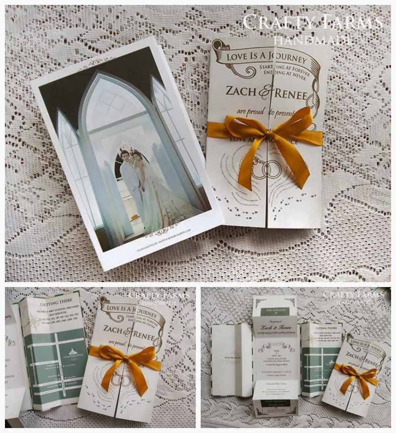 Harry Potter Themed Wedding Wedding Card Is Specially Customized