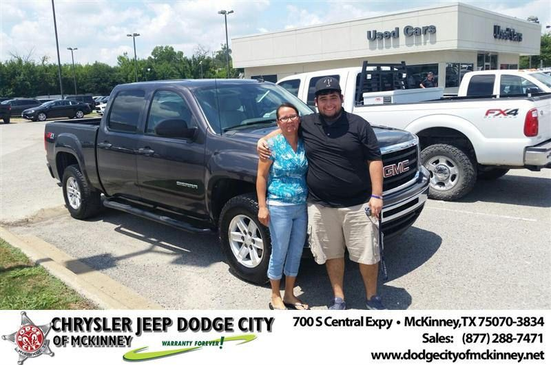 Congratulations To Samuel Serrano On Your New Truck Purchase From Dale Graham At Dodge City Of Mckinney Newcar Dodge City New Trucks Dodge