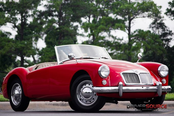 1961 MG A 1600 Roadster-We used to own one and my son's initials are MGA