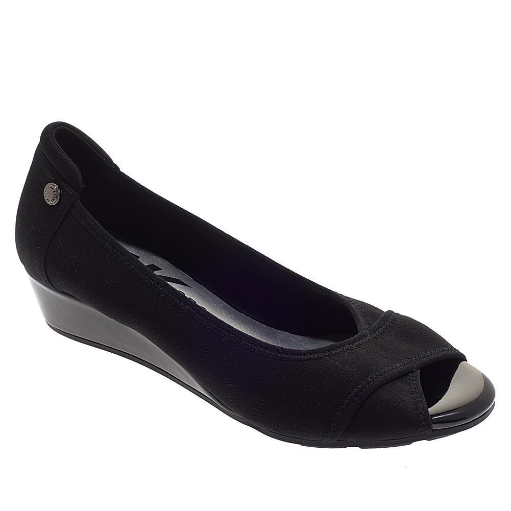 cc22aa9a1f138 Anne Klein Corner Slip-On Wedge - Black in 2019 | Products | Anne ...