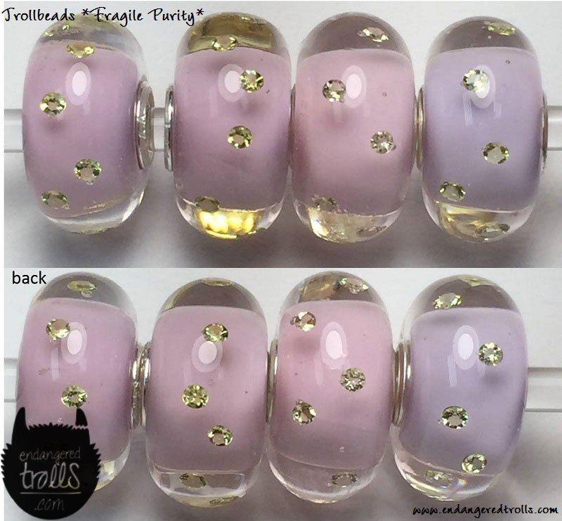 Trollbeads Glass Bead Fragile Purity
