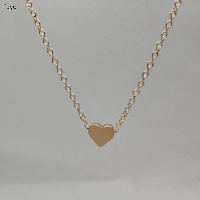 Chain Length: 35cm +10cmWeight: 10gShapepattern: Heartis_customized: NoMaterial: MetalChain Type: Link ChainOccasion: PartyStyle: TRENDYModel Number: XL01911Fine or Fashion: FashionCompatibility: All CompatiblePendant Size: smallItem Type: NecklacesFunction: Fitness TrackerGender: WomenNecklace Type: Chokers NecklacesMetals Type: Zinc AlloyBrand Name: fuyo