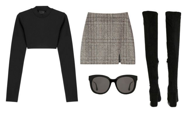 """""""Sin título #934"""" by ariannastradlin ❤ liked on Polyvore featuring Puma, Boohoo and Gentle Monster"""