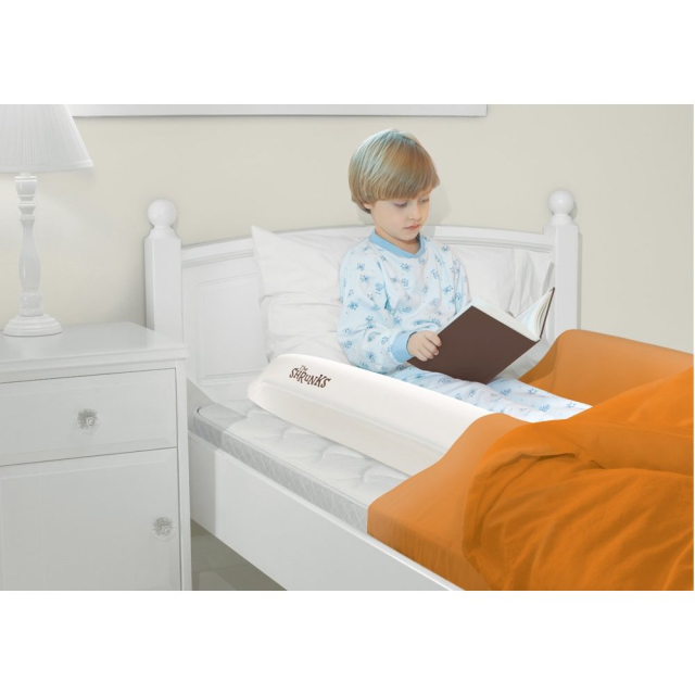 Sleep Secure Inflatable Bed Rail good for travel... (With