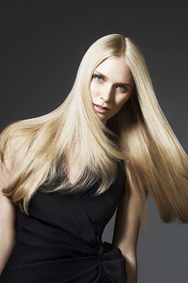 lange haare geglättet | lange haare wellen, frisuren