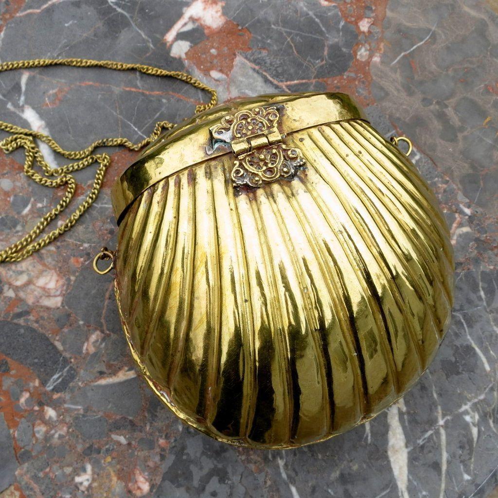 Vintage Brass Purse 53