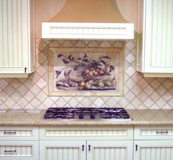 Wandgestaltung Ideen Küche Wandfliesen Wohnideen Dekoideen