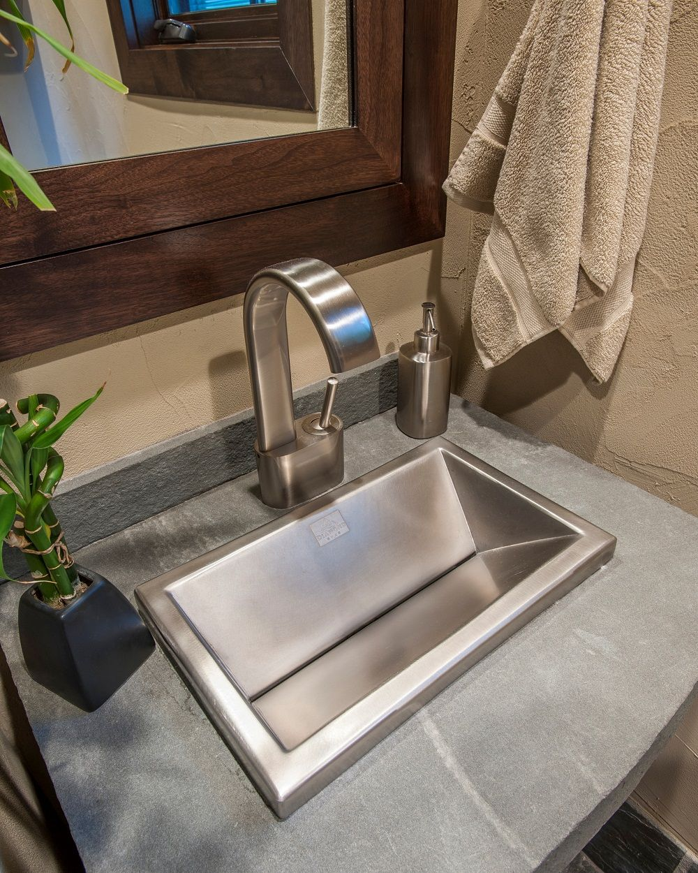 diamondspas.com colorado Stainless Steel Self-Rimming Custom Sink ...
