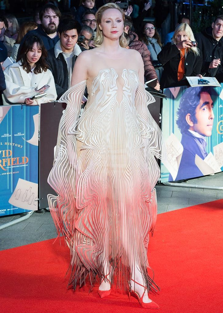 Gwendoline Christie Slays the Red Carpet (Again) in Stunning Optical Illusion Dress -  Gwendoline Christie Slays the Red Carpet (Again) in Stunning Optical Illusion Dress #purewow #celeb - #Carpet #Christie #dress #Gwendoline #Illusion #JapaneseTattoos #optical #OpticalIllusions #red #Slays #Stunning