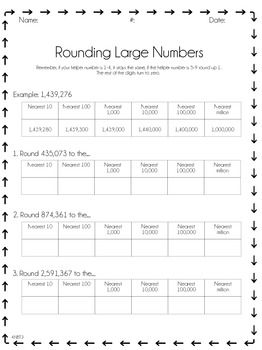 rounding large numbers nbt 3 rounding addition subtraction worksheets subtraction. Black Bedroom Furniture Sets. Home Design Ideas