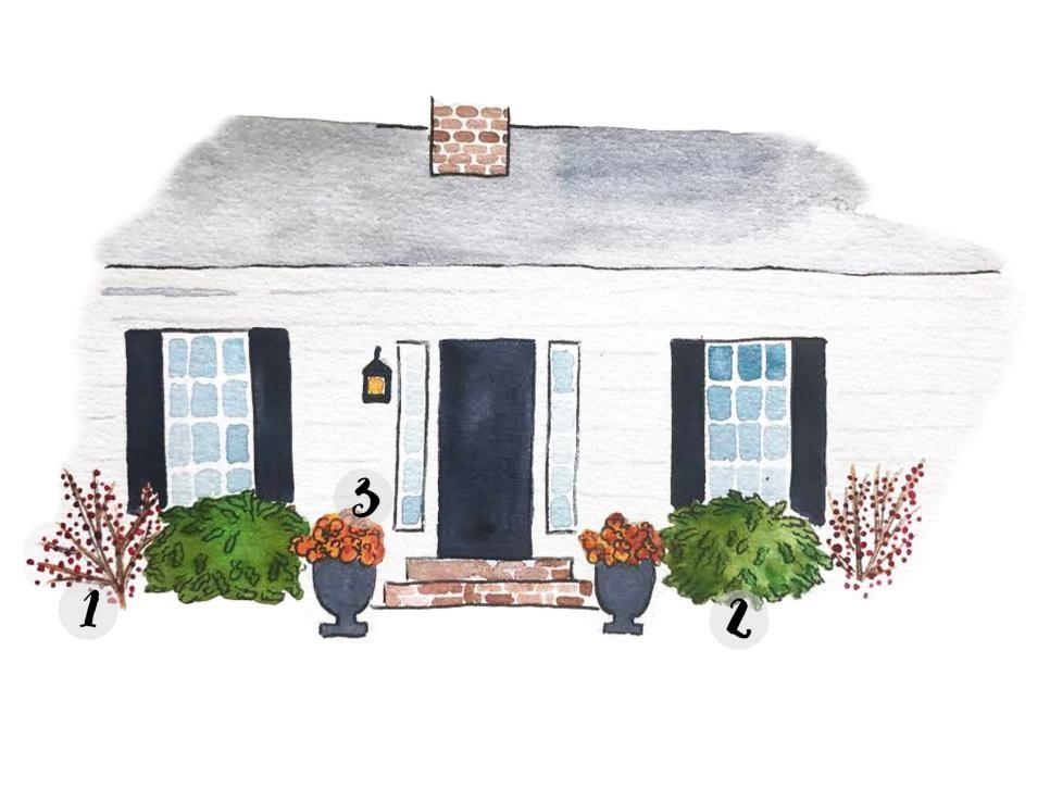 Plant Colors to Match Your Home's Exterior | Exterior design, Curb