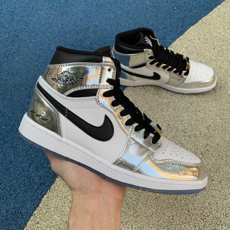 Kawhi Leonard s Air Jordan 1 Silver High Think 16  Pass The Torch  AJ1 For 5bbe998d1