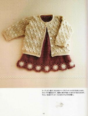 Crochê e outras coisitas: Blusa infantil manga longa