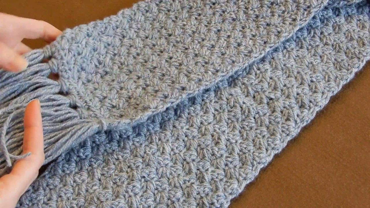 Crochet Scarf Tutorial Easy Elegant And Simple