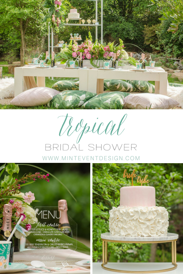 Tropical Bridal Shower Tropical Bridal Outdoor Bridal Showers