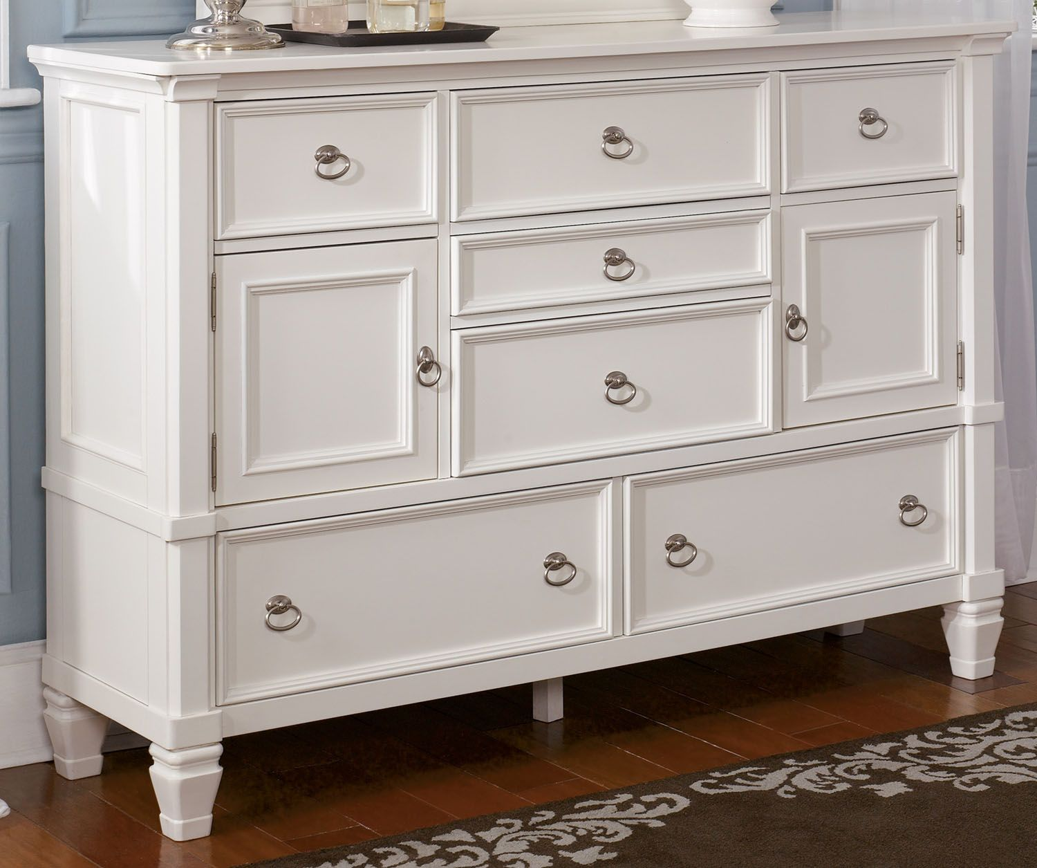 Best Prentice Dresser In White B672 31 Clearance Buy Bedroom 400 x 300