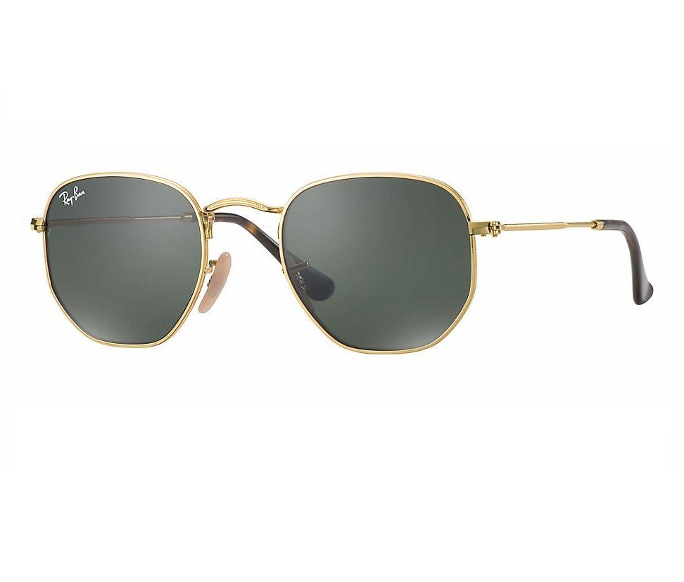 dbf07ea51e7e5 Óculos De Sol Modelo Hexagonal Fem - Masc Promoção