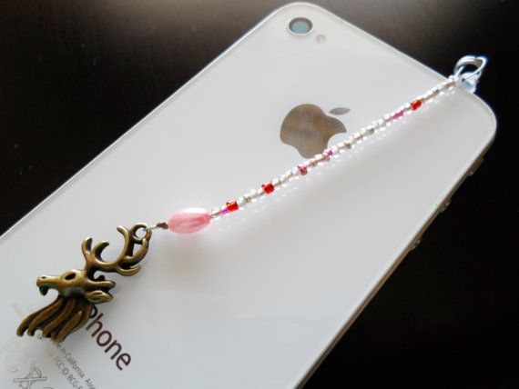 Hey, I found this really awesome Etsy listing at https://www.etsy.com/listing/175250298/pink-and-white-glass-beaded-cell-phone