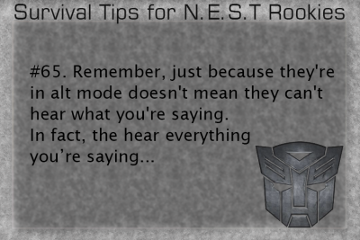 survival tips for nest rookies | Tumblr