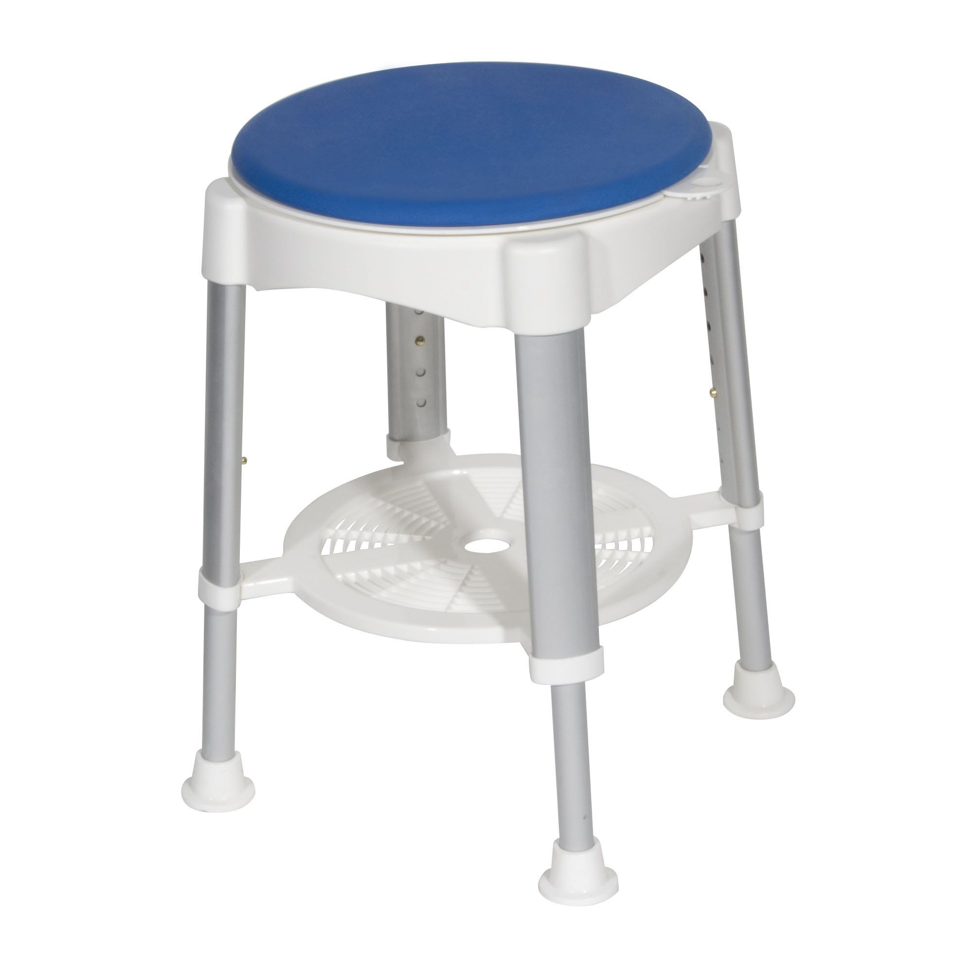 Drive Medical Shower Stool with Padded Rotating Seat | Shower while ...