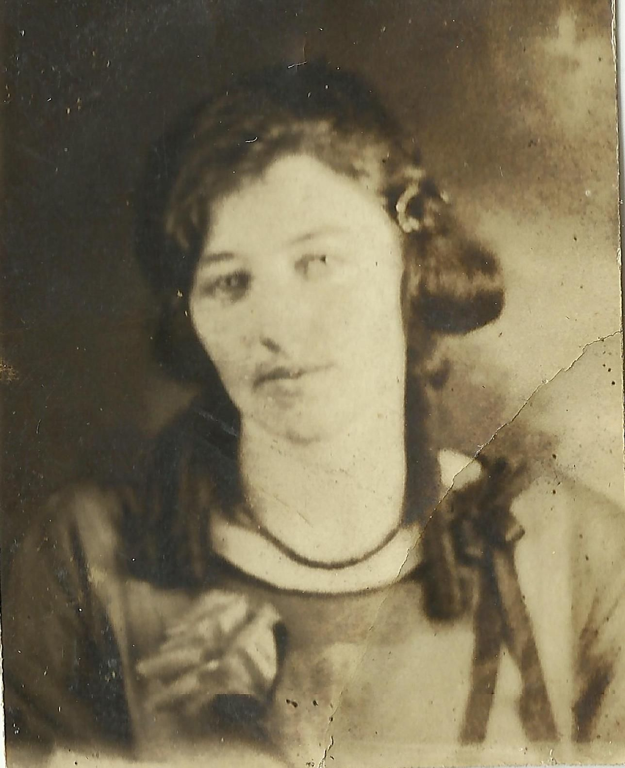 Unidentified woman in Navy Book circa 1922-1930