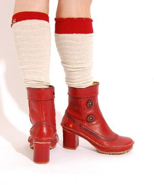 gorgeous red boots from ART <3