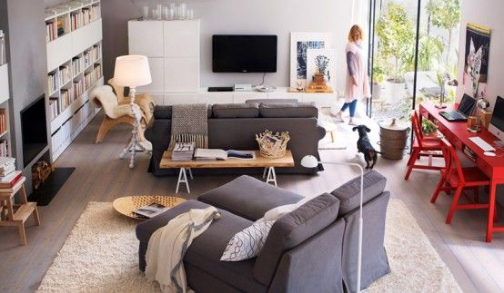 2011 IKEA Living Room Design Ideas