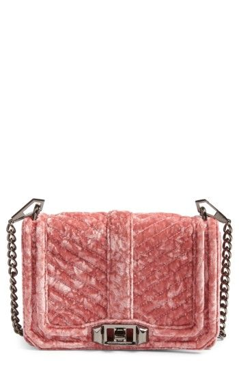 5040aa537e15 Rebecca Minkoff Small Love Velvet Crossbody Bag (Nordstrom Exclusive ...