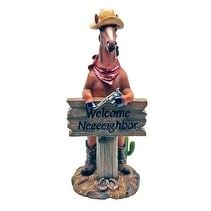 Neighborly Welcome Horse Statue Dwk Corporation Home