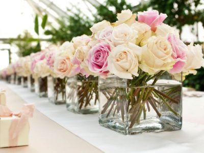 Marca la diferencia en tu boda con la decoración de Las Camelias Arte Floral
