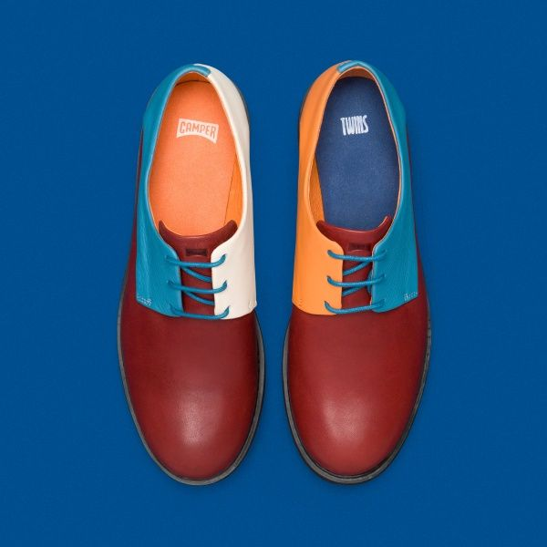 Camper Twins K200511-005 Flat shoes women isQkTjyxy