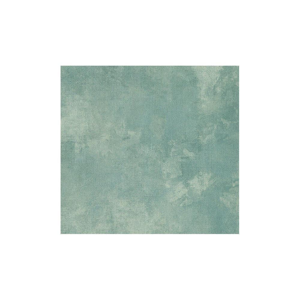 Sage Hill Teal Blue Texture Wallpaper Sample