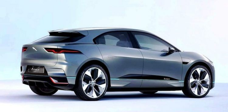 The Jaguar I Pace Concept Electric Suv For 2018 Jaguar Pace