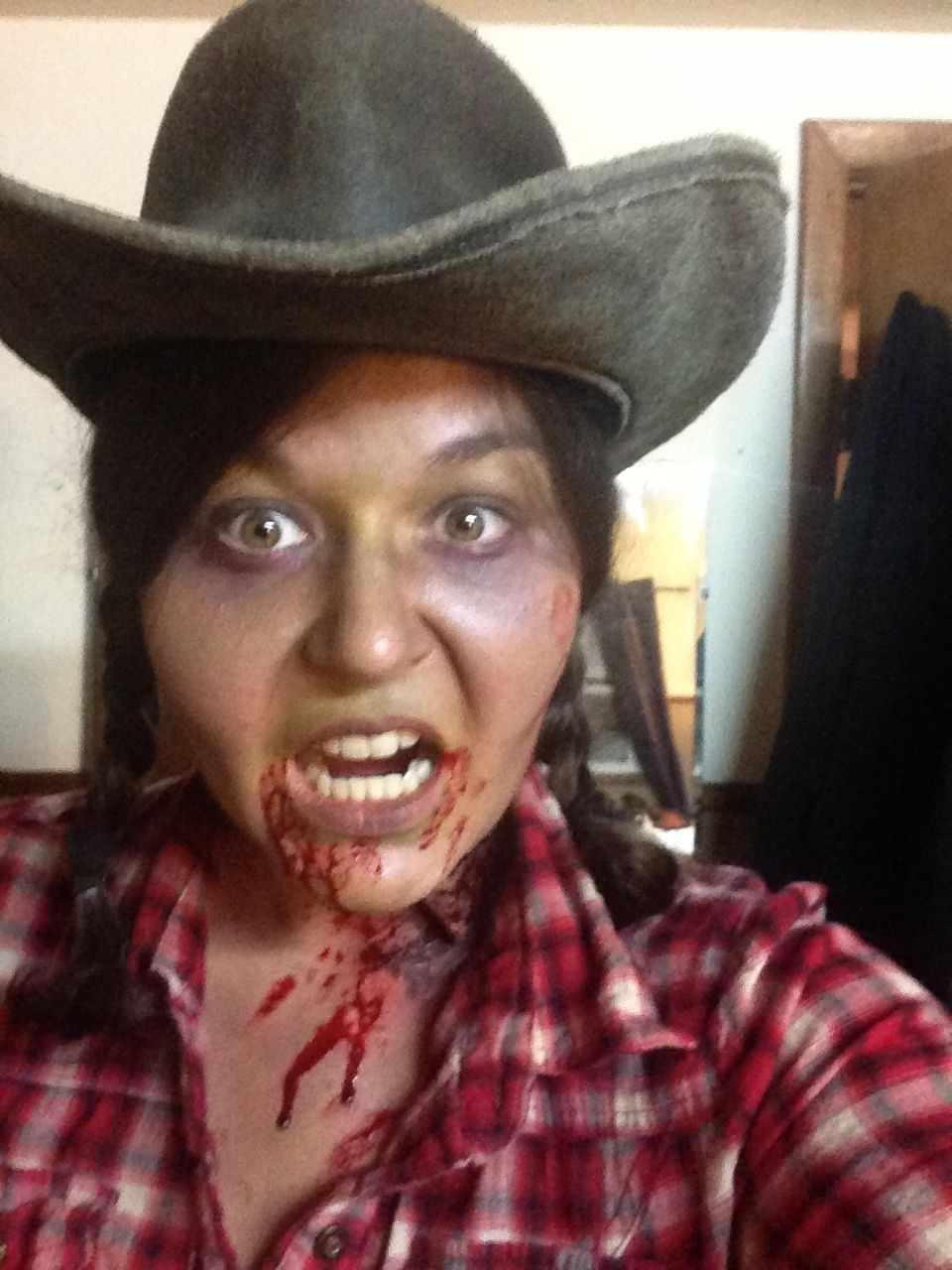Zombie cowgirl holla at the holidays pinterest halloween zombie cowgirl baditri Gallery