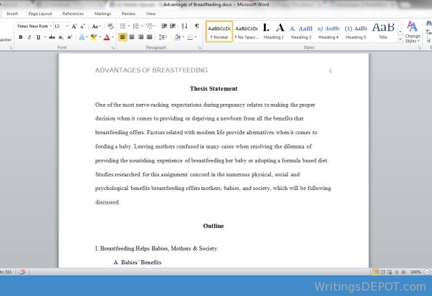 Essays on nature versus nurture