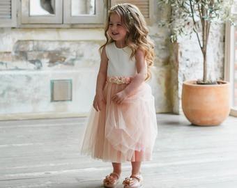 Photo of Flower girl dress, dusty flower girl dress, …