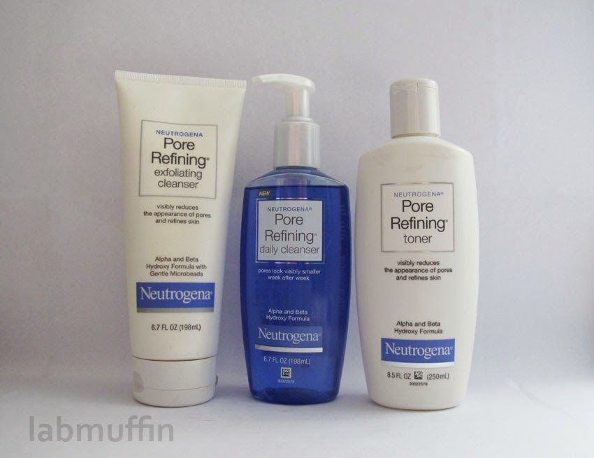 Neutrogena S Aha Bha Pore Refining Range Review Natural Oils For