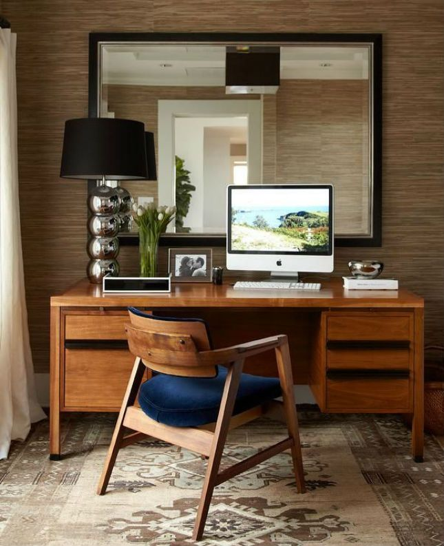 Mad Men Decor 24 mid-century modern interior decor ideas | work spaces, offices