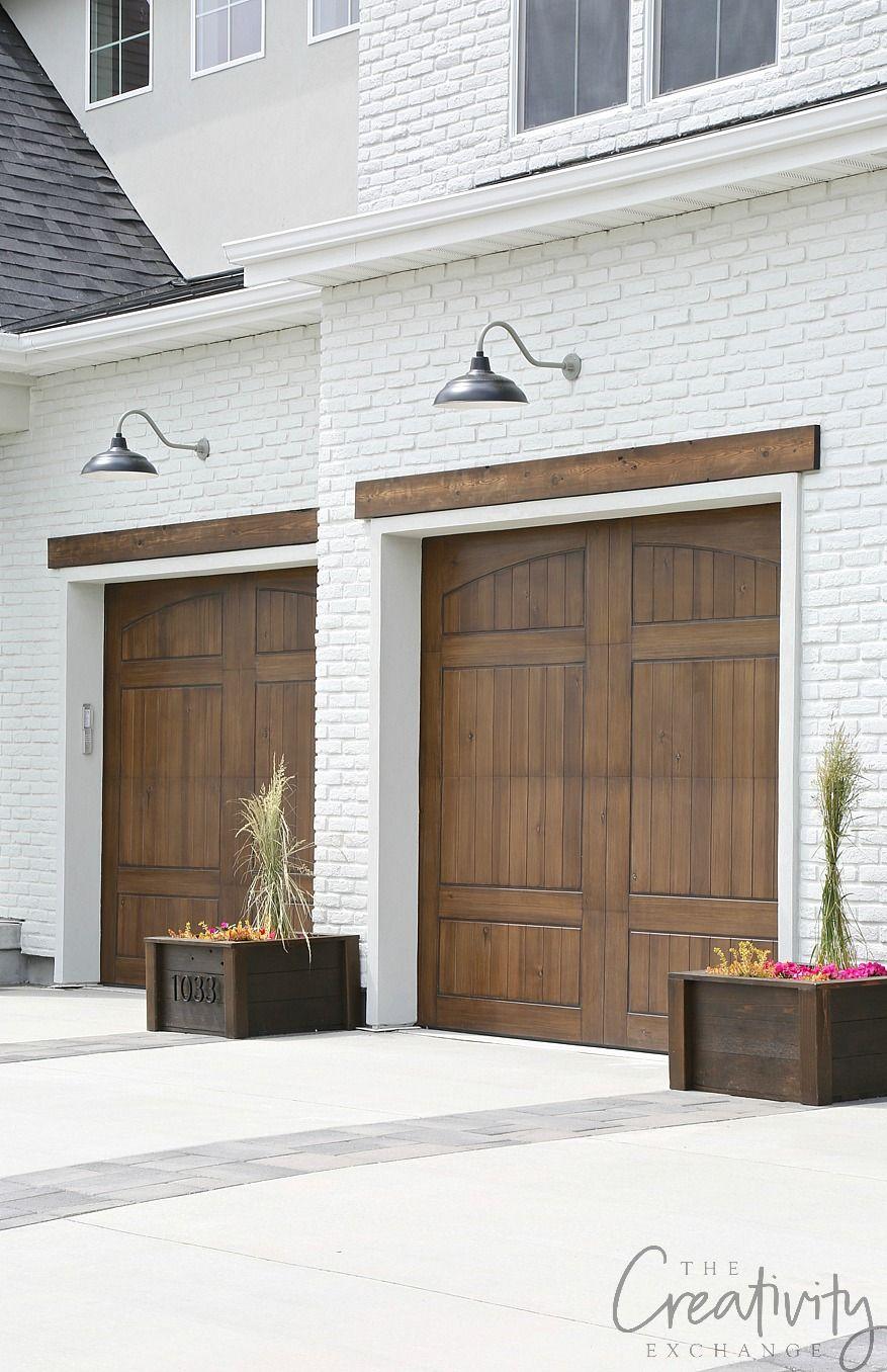 2019 Uv Parade Of Homes Recap Part 2 Painted Brick Exteriors Garage Door Design Exterior Brick