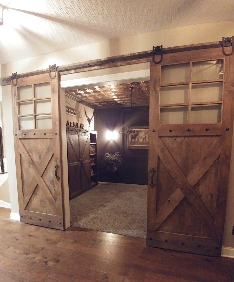 Vintage Farmhouse 6-Window Door
