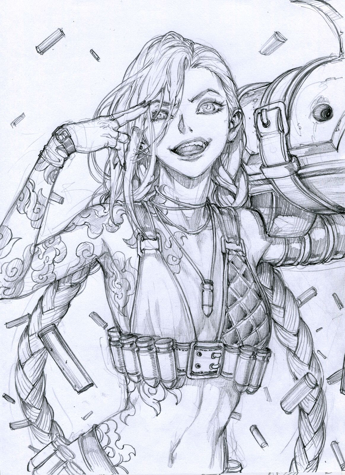 Lol Jinx Stato On Artstation At Https Www Artstation Com Artwork Kdnn3x Legend Drawing Jinx League Of Legends Character Design Sketch league is a drawing game where gamers and friends can test their drawing skills and knowledge about some of their. legend drawing jinx league