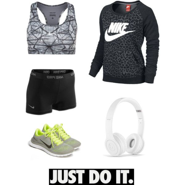 """INSPIRATION - Nike"" by bjoergensen on Polyvore , like this nike free 3.0 v5, site for all nikes half off     #cheap #nike #free"