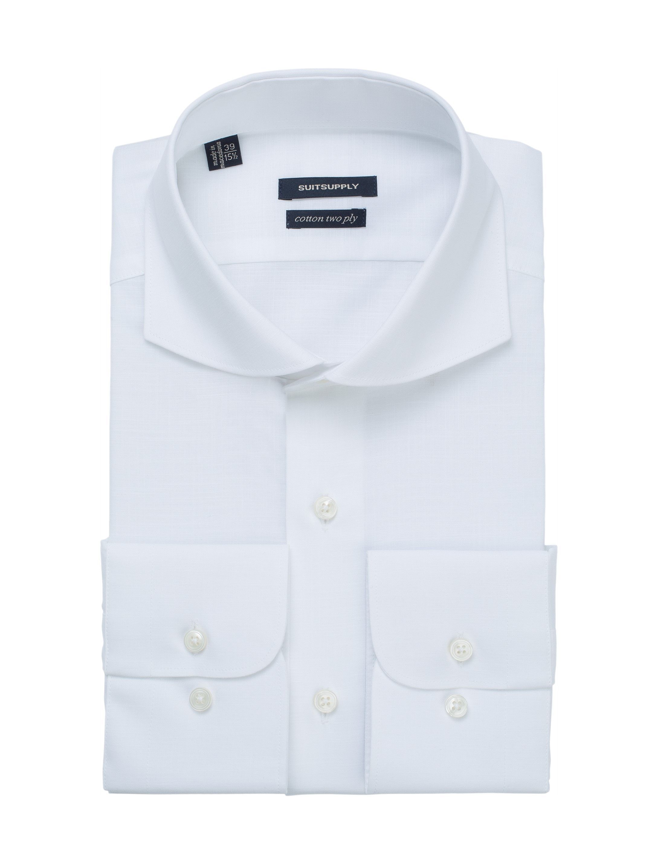 White Shirt Single Cuff H4715 Suitsupply Online Store Stuff To
