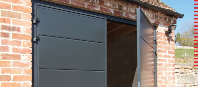 Side hinged garage doors from Teckentrup | Home Décor | Pinterest ...