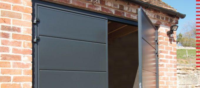 Side Hinged Garage Doors From Teckentrup In The Garden Pinterest
