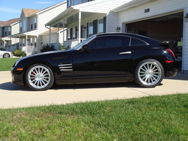 Chrysler Crossfire Srt 6 With Images Chrysler Crossfire