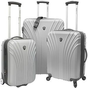 Buy Travelers Choice 3-Piece Hardside Ultra Lightweight Hardside Luggage NEW