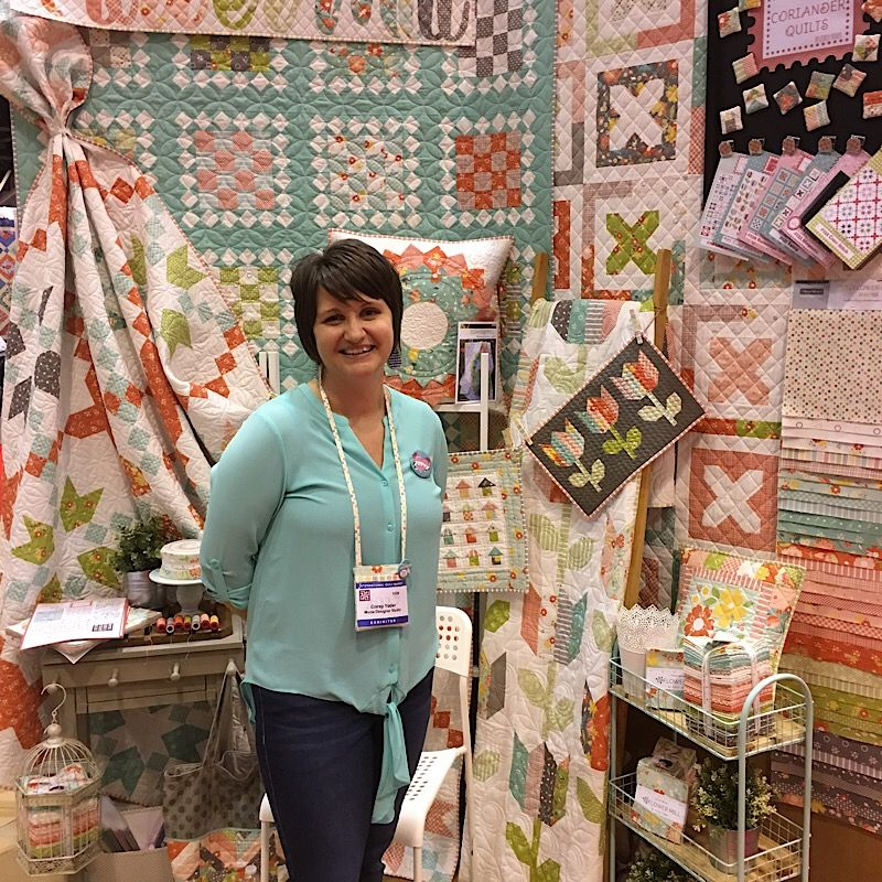 It's Saturday morning and Spring International Quilt Market 2017 ... : international quilt market - Adamdwight.com