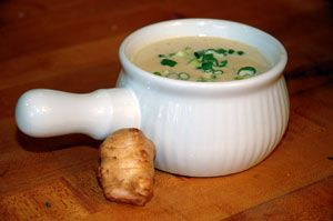 Cream of Jerusalem Artichoke Soup recipe made with Jerusalem Artichokes tubers also known as sunchokes and come from a sunflower species.